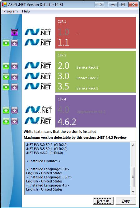 cara cek net framework
